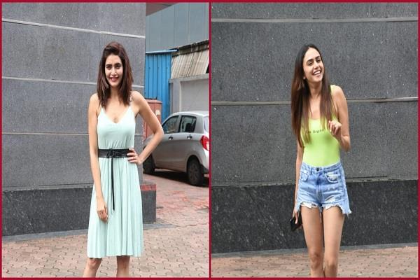 karishma tanna and amruta khanvilkar spotted in juhu