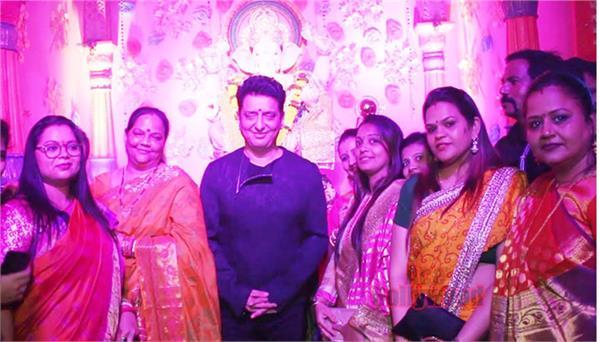 sajid nadiadwala celebrated ganesh pooja with childhood friends
