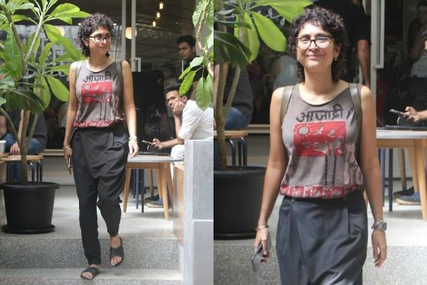 kiran rao spotted casual look spotted at bandra