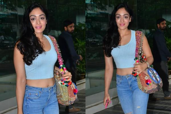 gulshan kumar daughter khushali kumar spotted at love ranjan office