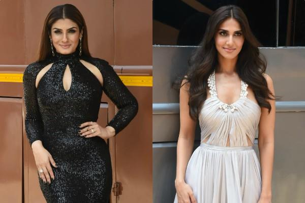vani kapoor and raveena tandon latest pictures