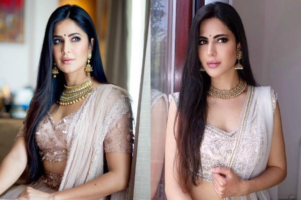 katrina kaif carbon copy in tik tok star alina rai pictures