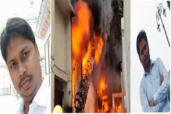 bahadurgarh factory fire body of quality manager and his partner found in lab