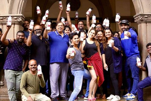 varun dhawan starer coolie no1 is the first film set to go plastic free