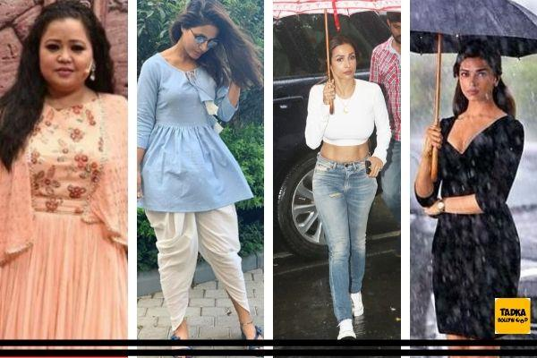 mumbai rains disrupt day to day work of bollywood celebs