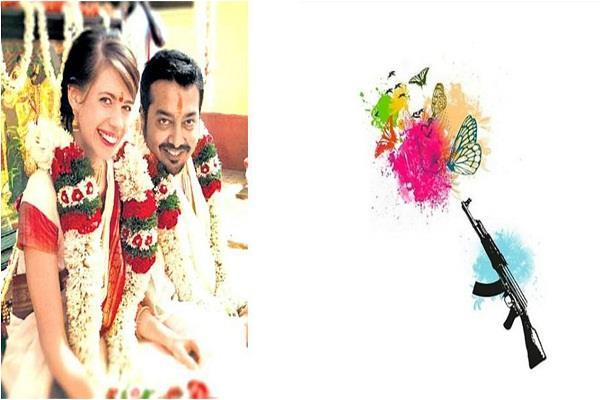 kalki said ak 47 to her ex husband anurag kashyap on birthday