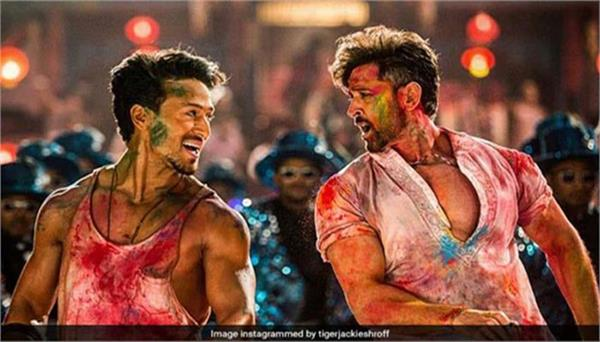hrithik roshan tiger shroff film war rocked with another holi song
