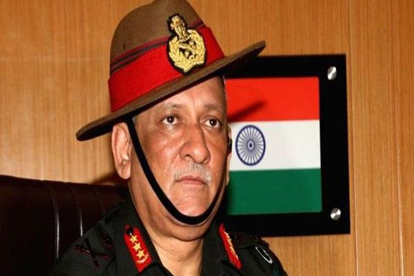 army chief bipin rawat to visit maldives for five days from sunday