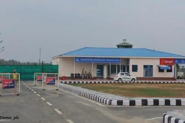 4 lane road to adampur airport