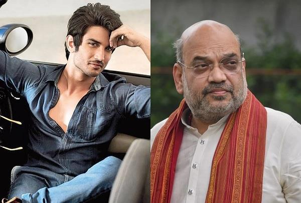 amit shah speak over sushant singh rajput case