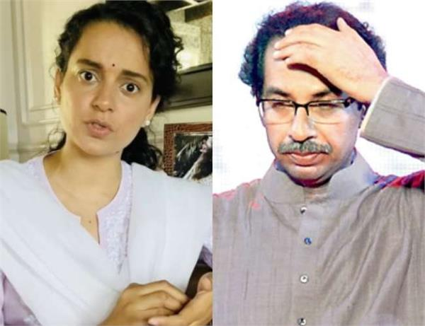 kangana ranaut slams uddhav thackeray on opening bar restaurant but not temples