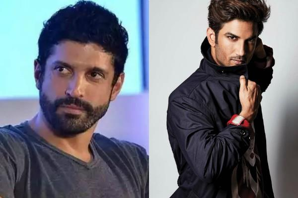 farhan akhtar angry on news of sushant cook working in his home