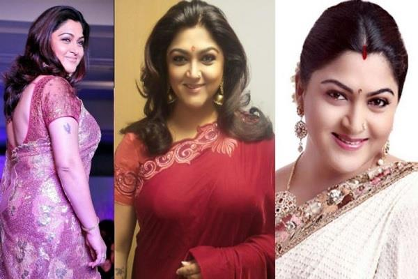 actress and politician khushboo sundar unknown facts
