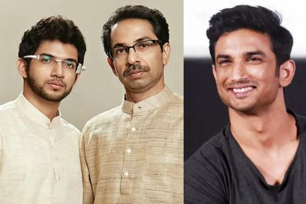 sushant case cm uddhav thackeray breaks silence on aditya allegations