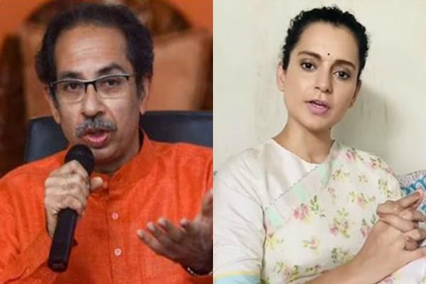 cm uddhav thackeray attacks kangana ranaut in dussehra rally