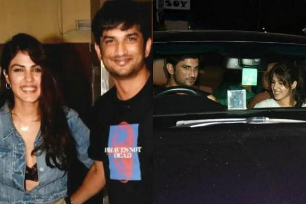 rhea chakraborty neighbour claim on 13 june he saw actress with sushant