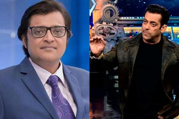 salman khan once again target arnab goswami during bigg boss 14