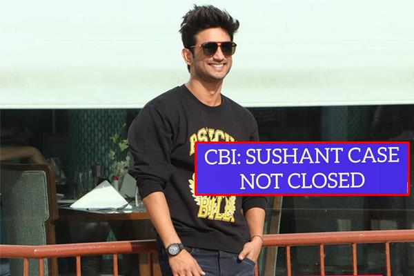 cbi said sushant singh rajput probe is not over