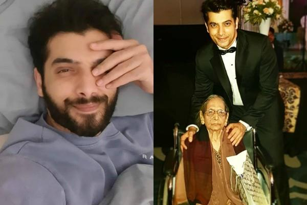 sharad malhotra maternal grandmother died