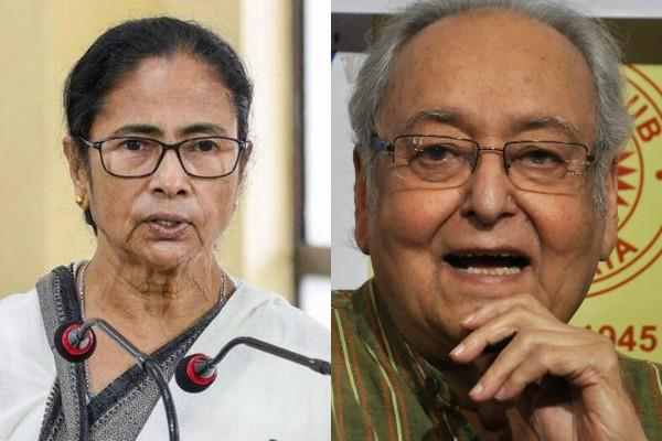 soumitra chatterjee got corona positive mamata banerjee asked about health