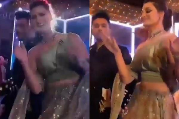 urvashi rautela danced in neha and rohanpreet wedding with tony kakkar