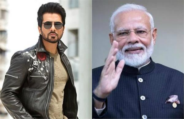 fan requested pm modi to honor sonu sood with bharat ratna award