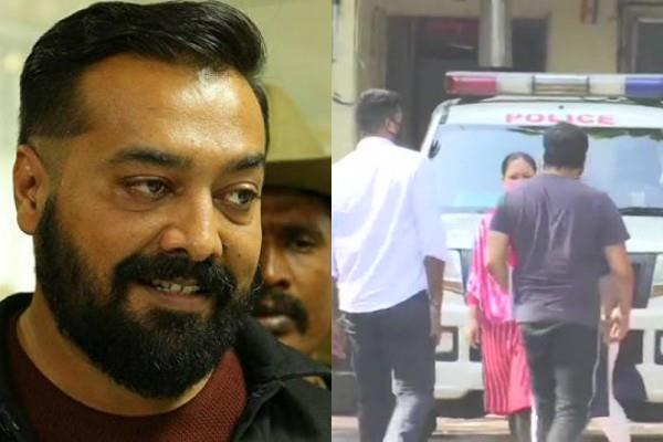 anurag kashyap reachesd police station to record his statement