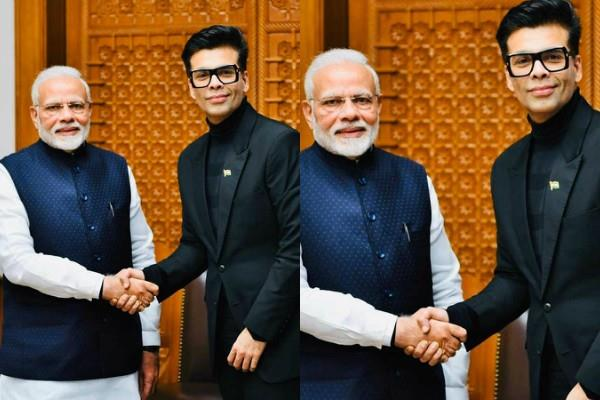karan johar wrote a letter to pm modi on the occasion of gandhi jayanti