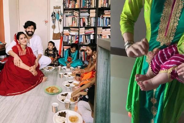 shraddha kapoor vikrant massey shilpa shetty celebrate ashtami