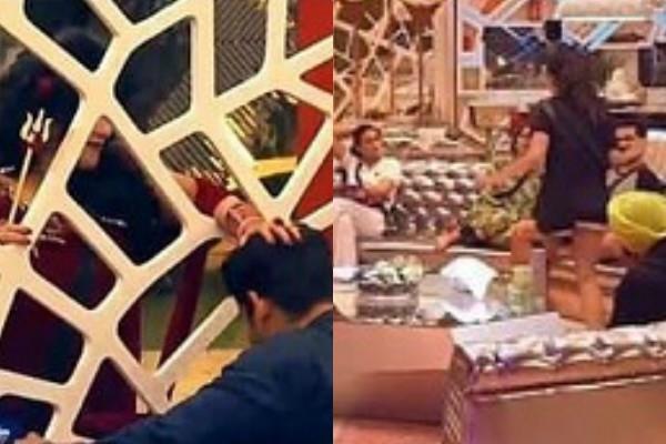 bigg boss 14 nikki tamboli jasmin bhasin argument for washing dish on first day