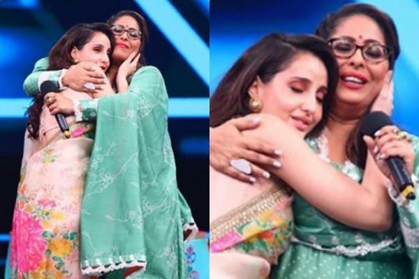 geeta kapoor gets emotional last shoot of india best dancer with nora