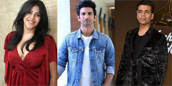 sushant case bihar court summoned 7 stars including karan johar and ekta kapoor