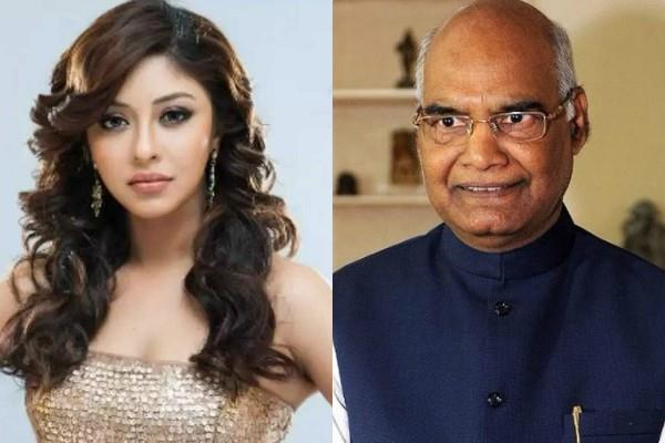 actress payal ghosh wrote a letter to the president ramnath kovind