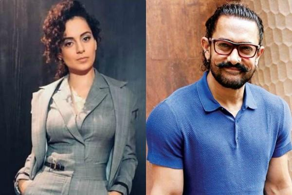 kangana ranaut reaction after sedition complaint targets aamir khan