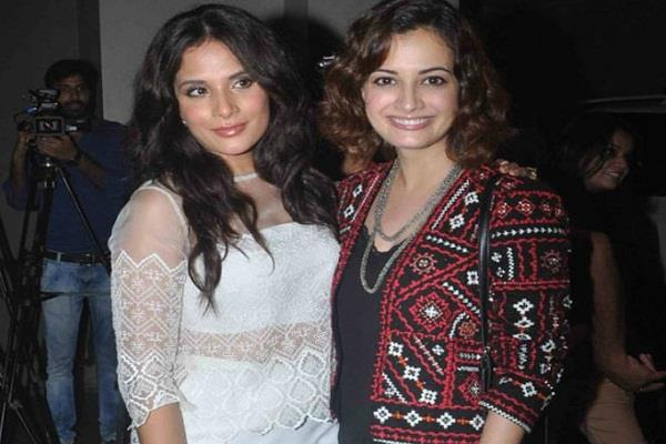 richa chadda and dia mirza s tweet deleted by twitter actress raised questions