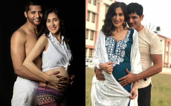 karanvir bohra enjoy babymoon wife teejay sidhu in dehradun