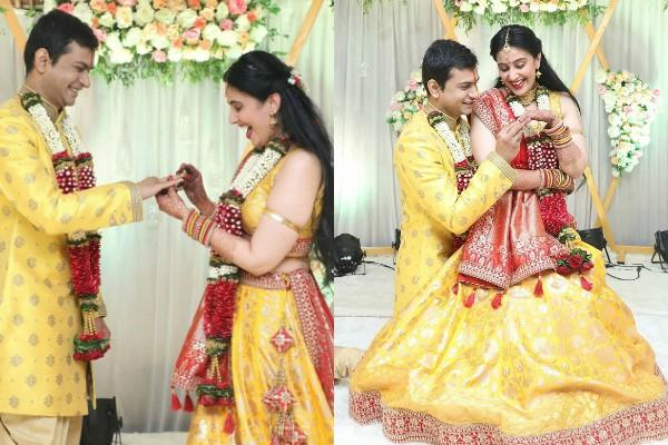 kapil sharma actress sai lokur gets engaged to boyfriend tirthadeep roy