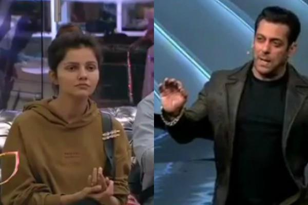 salman threatens to rubina dilaik from bigg boss fans come in support