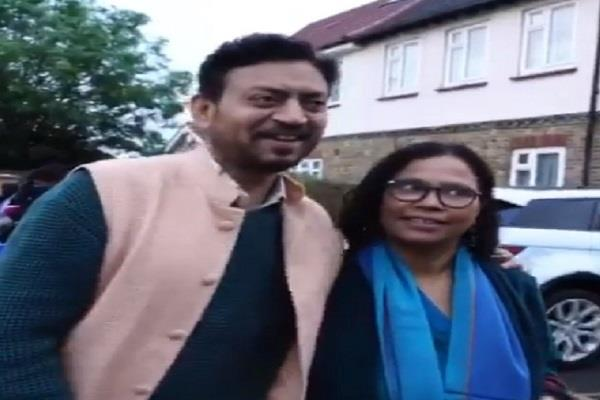babil khan shares father irrfan khan throwback video with wife sutapa