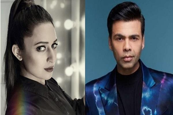 divyanka give answer user who comment not take drug and stay away karan johar