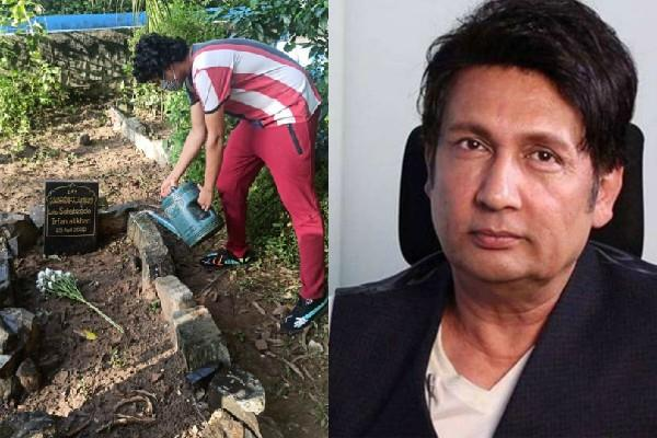 seeing the grave of irrfan shekhar suman questioned the industry