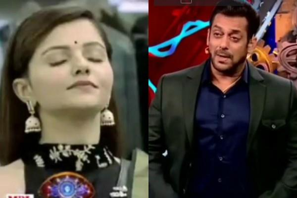 bigg boss 14 weekend war  salman khan angry over rubina dilaik