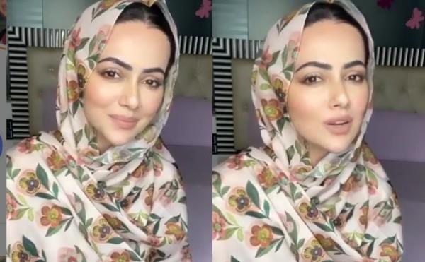 sana khan trolled for makeup