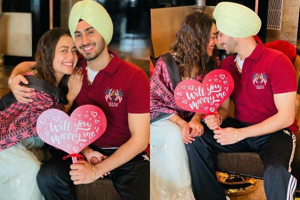 neha kakkar share romantic photo with rohanpreet singh before marriage
