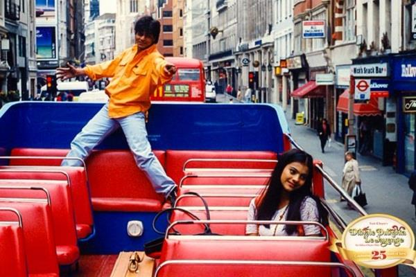 25 years complete of film ddlj shahrukh and kajol statue to be in london