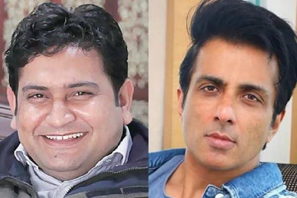 sonu sood reply aap party politician sandeep kumar on hathras gang rape case