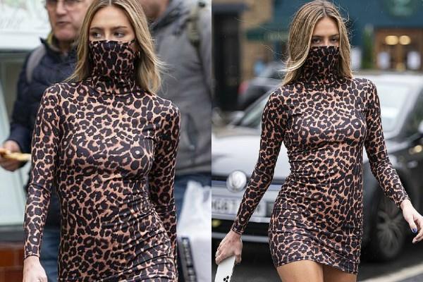 लंदन की सड़कों पर स्पॉट हुई डेलिला बेले हैमलिन, शॉर्ट ड्रेस में दिखी बेहद हॉट