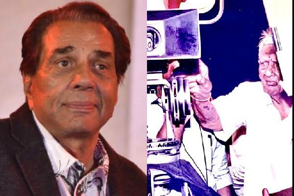 dharamendra got emotional remembering his father
