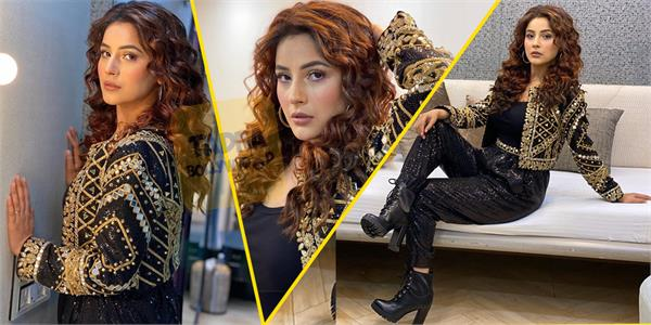 bigg boss fame shehnaz gill looks stunning in new photoshoot
