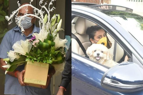 fans gather outside amitabh bachchan house to wish the actor on his birthday